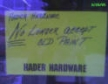 CORPORATE HARDBALL: Hader Hardware no longer accepts old paint.