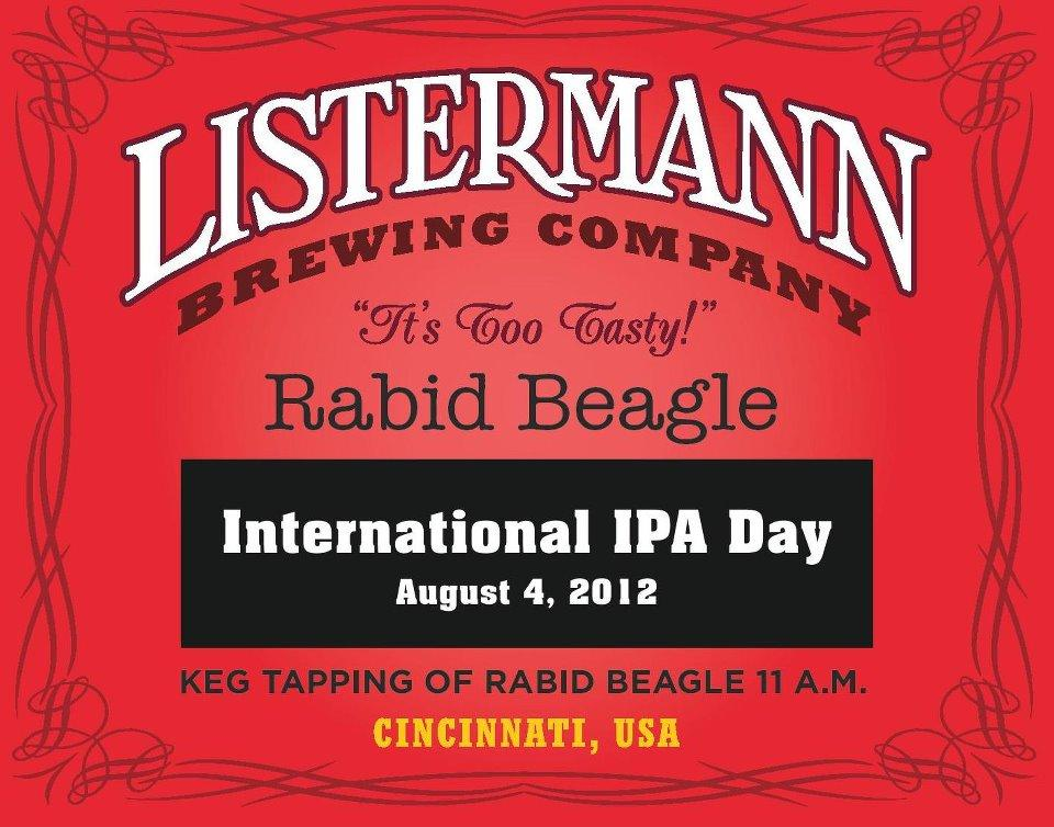Celebration for the Glory of the Hop Beer Tasting at Listermann Brewing