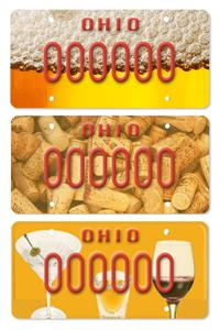 drunks vote on new ohio dui license plate designs. Black Bedroom Furniture Sets. Home Design Ideas