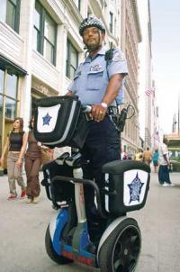 HIGH SPEED CHASE: Unicycle fugitive no match for Segway Cop