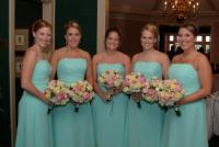 Chelsea Clinton�s bridesmaids report mysterious dress stains